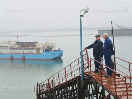 После капитального ремонта в Волгодонск вернулась плавучая насосная станция