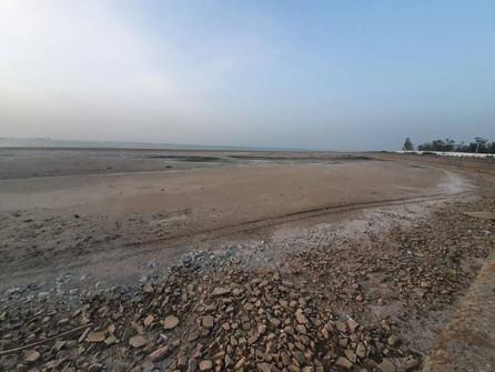 Цимлянское водохранилище отступило на десятки метров от набережной Волгодонска