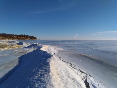В Цимлянское водохранилище ограничили доступ судам из-за льда