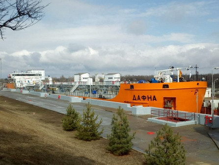 В открытии навигации на Цимлянском водохранилище в Волгодонске принял участник сражения с пиратами