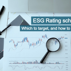 ESG Rating schemes: Which to target, and how to do well