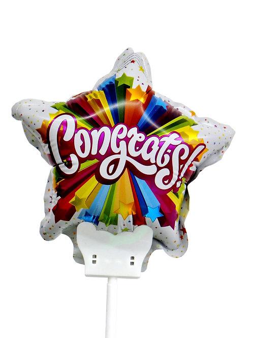 Balão Congrats! Parabéns!