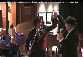 """Tim with Jeffrey """"Elvis"""" at The Jansen"""