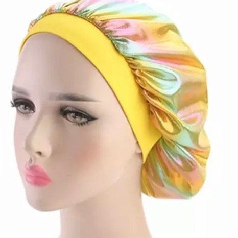 Holographic - Bonnet - Yellow