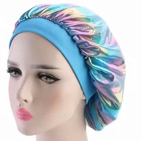 Holographic - Bonnet - Blue