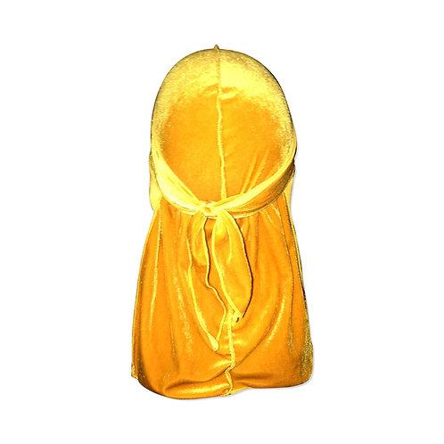 Velvet Durag - Yellow