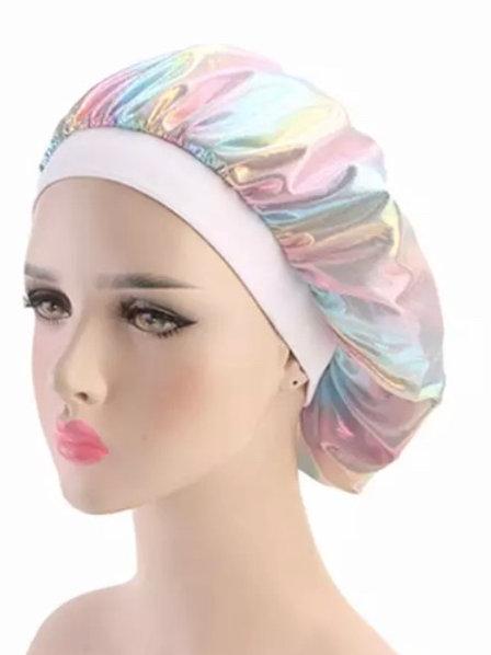 Holographic - Bonnet - White