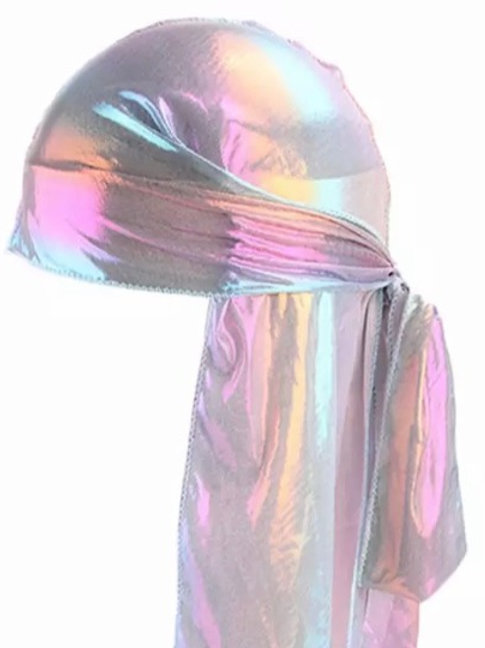 Holographic - Durag - White