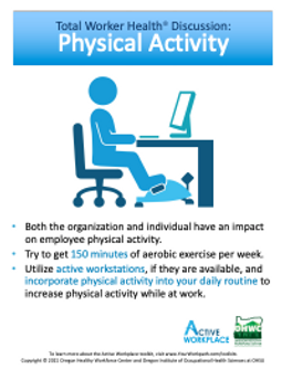 Active Workplace workplace safety, health, and well-being program