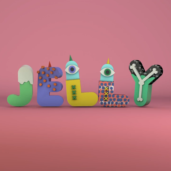 Jelly text animation