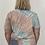 Thumbnail: Tee shirt tye and dye unisexe