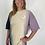 Thumbnail: Robe tee shirt dip dye lila