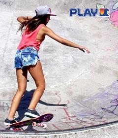 Play Sunrider Hossegor skate bol
