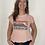 Thumbnail: Tee shirt rose pâle sunset Hossegor