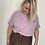 Thumbnail: Tee shirt vintage lila