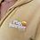Thumbnail: Sweat-shirt à capuche zippé peluche moutarde Unisexe