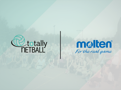 Molten Partnership continues to the benefit of Totally Netball participants