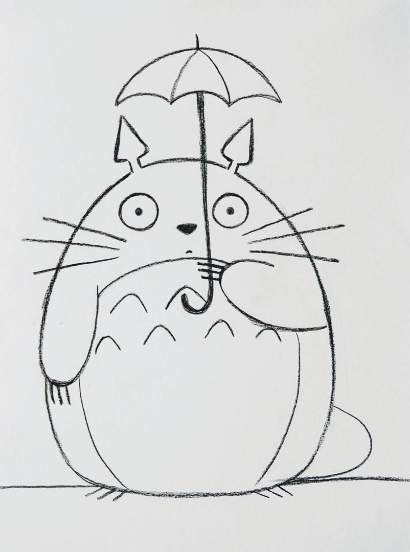 Draw Totoro