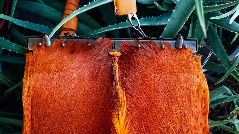 Orange Spring Buck Beauty Tool Bag