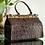 Thumbnail: Brown Alligator Beauty Tool Bag (Medium)