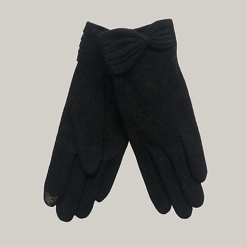 Gants laine et cachemire  Noir