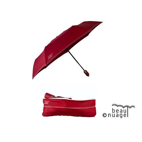 Parapluie automatique avec housse absorvante Rouge grenat