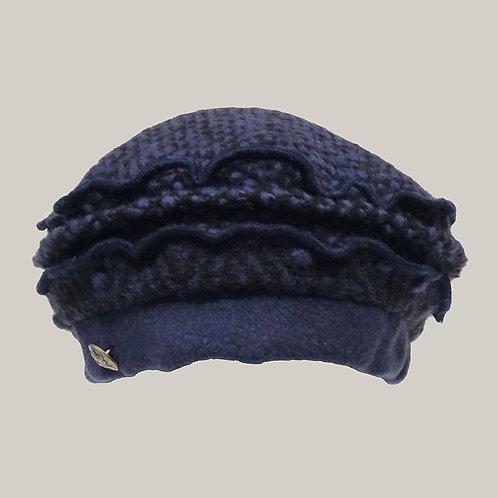 Béret (Harmony) Noir/Indigo/Marine