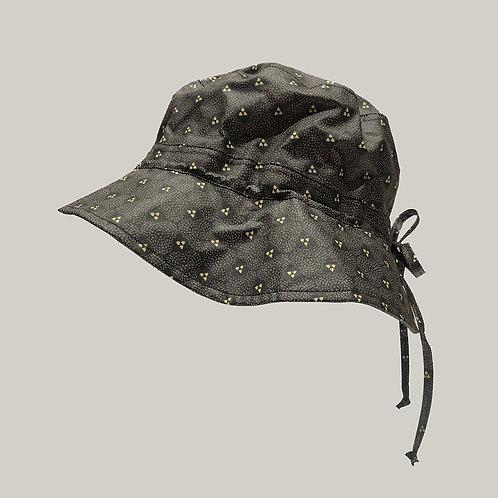 Bob de pluie, taille ajustable Noir imprimé