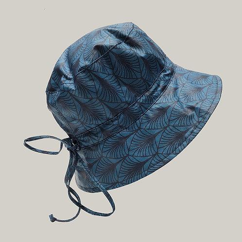 Bob de pluie, taille ajustable Turquoise  imprimé