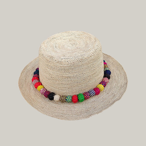 Crochet Beach Bora Bora Naturel