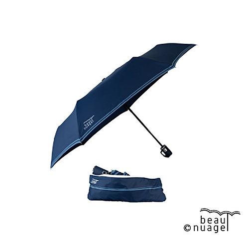 Parapluie automatique avec housse absorvante Bleu de minuit