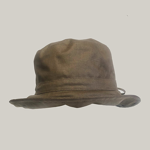 Bob de pluie, taille ajustable (59 vers 57), Taupe