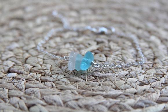 Turquoise Tones Cluster Bracelet