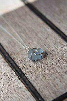 Maya Blue Signature Wave Necklace