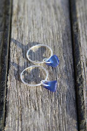 Cobalt Blue Endless Hoops