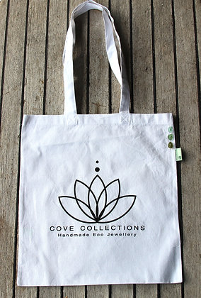 100% Recycled Cotton Tote Bag