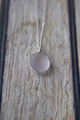 Light Lilac Wrap Necklace