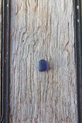 Mini Cobalt Blue Sea Glass for Ring