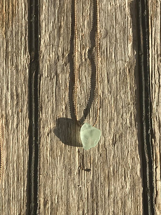 Light Green Namaste Necklace