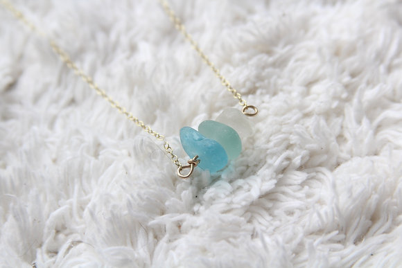 Turquoise 9ct Gold Choker Necklace