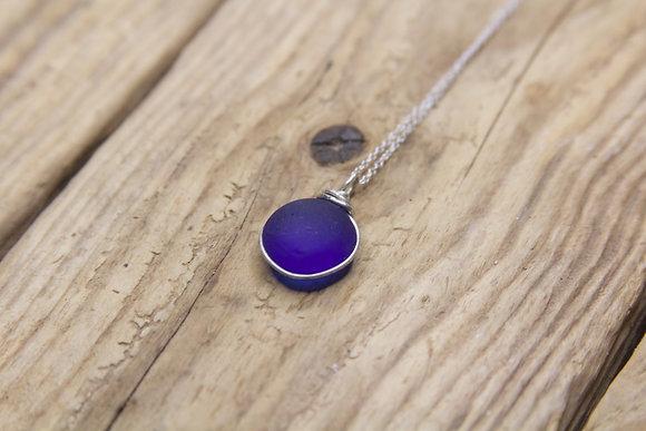 Cobalt Wrap Necklace