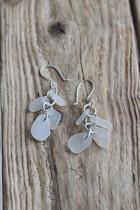 Clear Tide Line Earrings