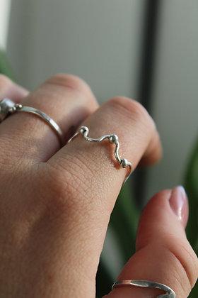 Wavey Fidget Ring