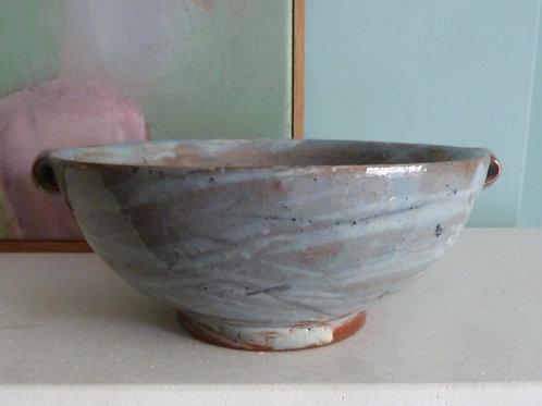 Blue Lugged Bowl- Ocean