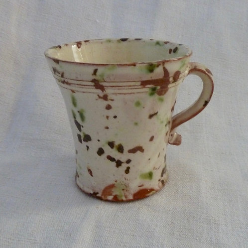 Speckled Mug - Brown and Green