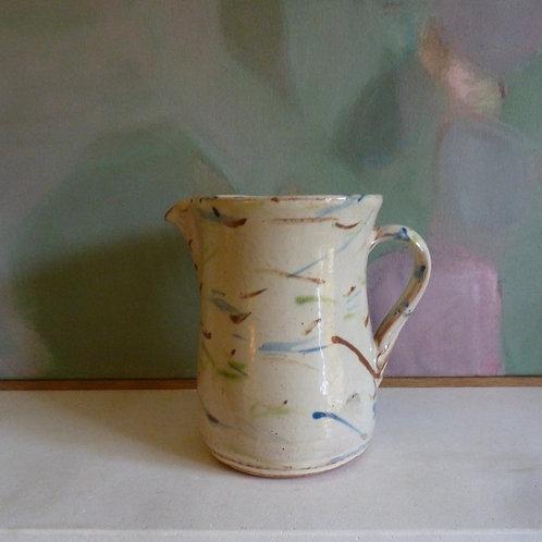 Speckled jug