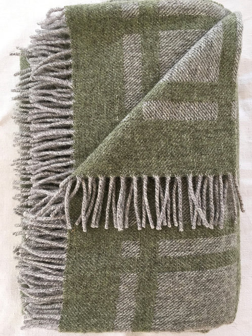 Limited Edition Cumbrian Summer Blanket - Moss