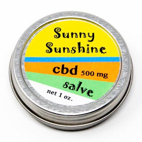 Sunny SunShine Salve, 500mg CBD Isolate **