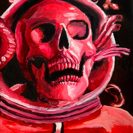 29B_Red Glare_acrylic_12x17