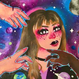 31B_One with the galaxy_acrylic_8x10